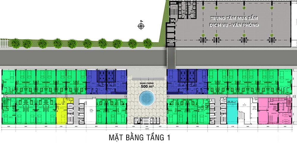 mat bang tang 1 dự án roxana plaza